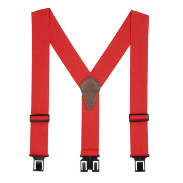 Red Suspenders PNG Image