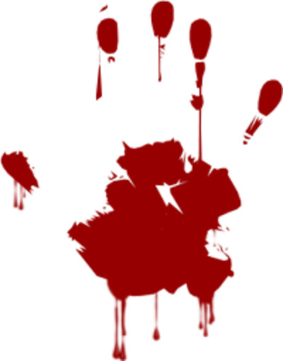 Blood Hand PNG Image