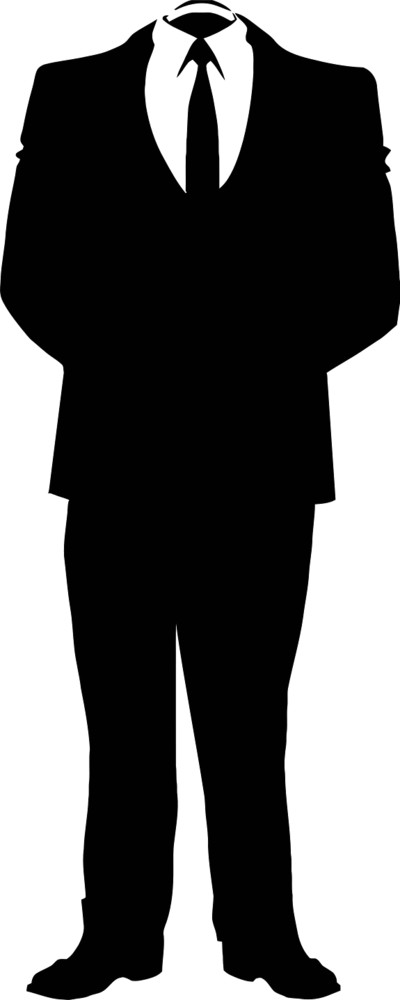 Anonymous Man PNG Image