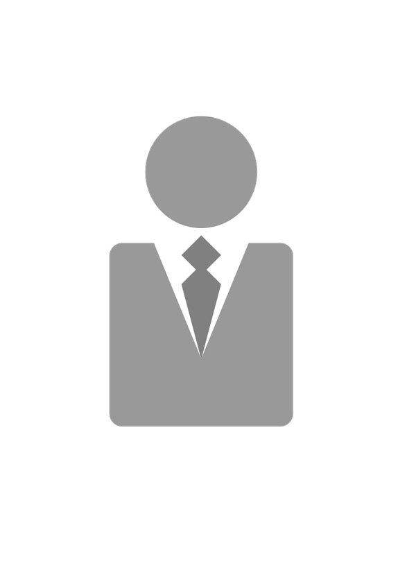 Businessman Grey Icon PNG Image