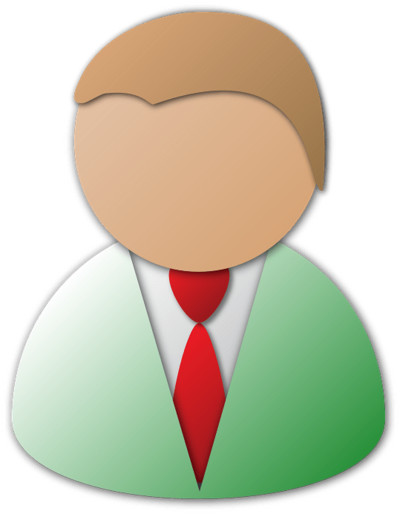 Generic Male Person Icon PNG Image