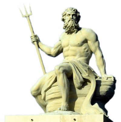 Poseidon Statue - Download on PNGPX
