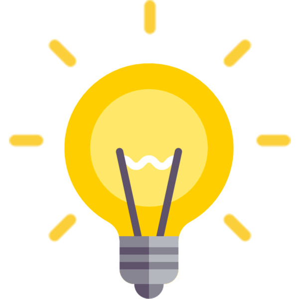 Icons Light Idea Computer Lighting Incandescent Bulb PNG Image