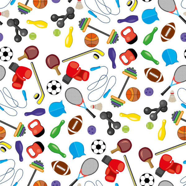 Sports Icon Collection Illustration Stock   Photo PNG Image