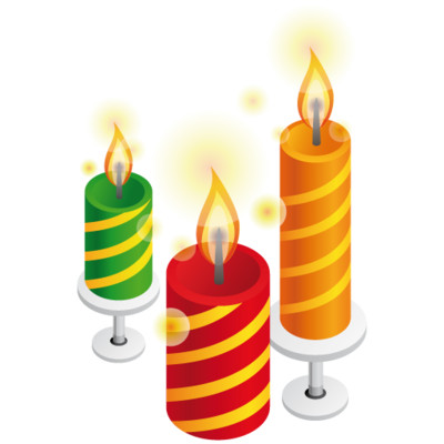 Candles    - Download on PNGPX