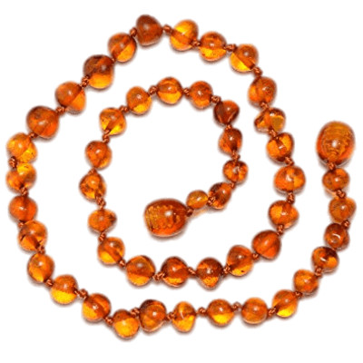 Amber Necklace PNG Image