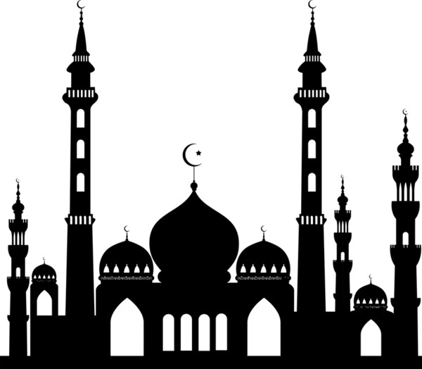Large Mosque Islam PNG Image