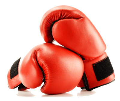 Boxing Gloves Red Duo PNG Image