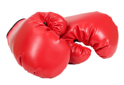 Boxing Gloves Red PNG Image