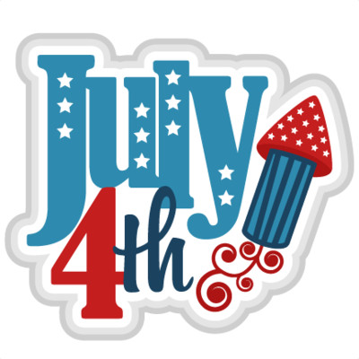 Happy Fourth Of July Rocket PNG Image