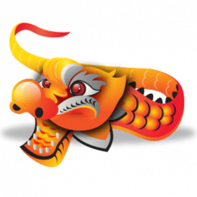 Chinese New Year Dragon PNG Image