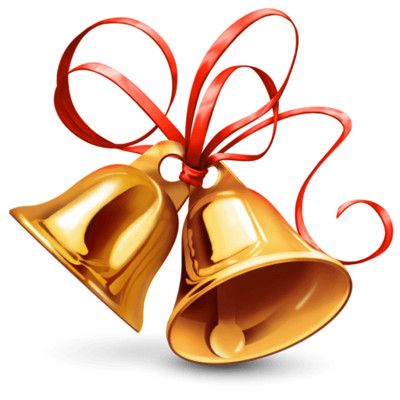 Bell Christmas PNG Image