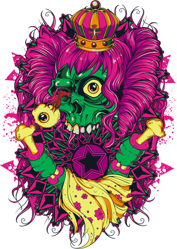 Colorful tattoo  PNG Image
