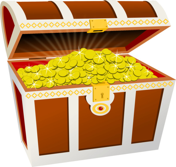 Treasure chest  - Download on PNGPX