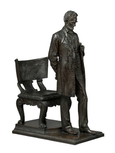 Abraham Lincoln-  Man (Standing Lincoln) Statue PNG Image