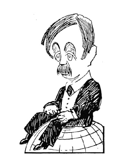 H.G. Wells PNG Image