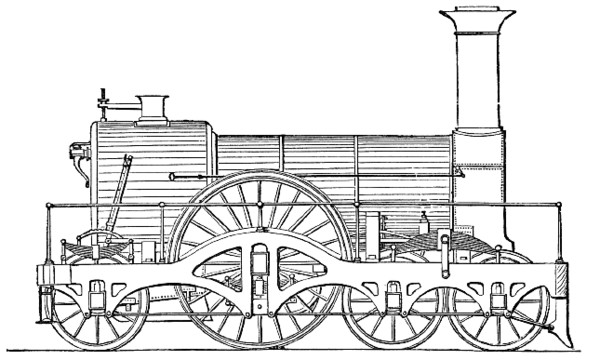 Steam Train Great Western Express PNG Image