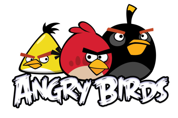 Angry Birds Logo PNG Image