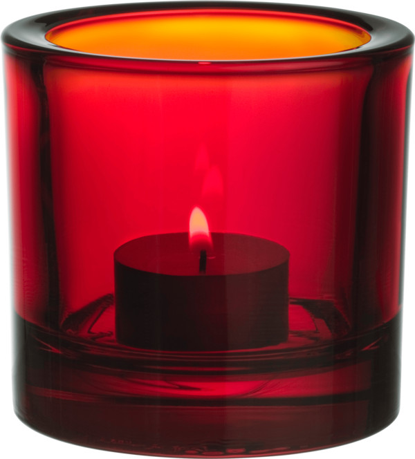 Water Red Candle PNG Image
