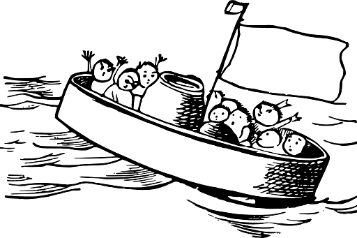 Edward Lear Drawing Save Our Souls - Download on PNGPX