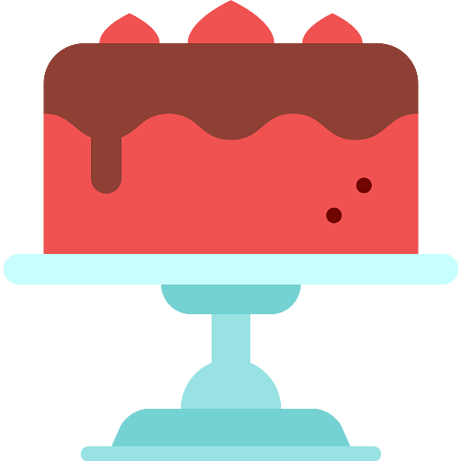 Cake On Stand Icon - Download on PNGPX