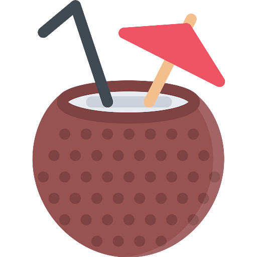 Coconut Drink Icon - Download on PNGPX