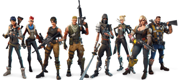 Figure Royale Game Figurine Video Fortnite Battle - Download on PNGPX