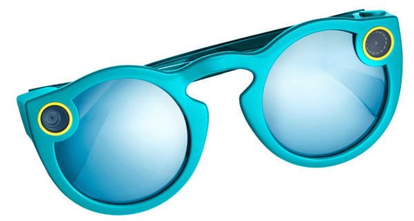 Snapchat Spectacles Blue PNG Image