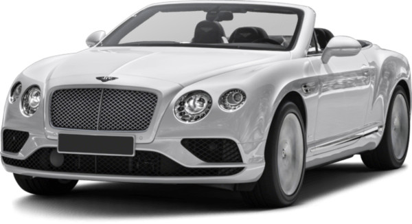 White Convertible Bentley PNG Image