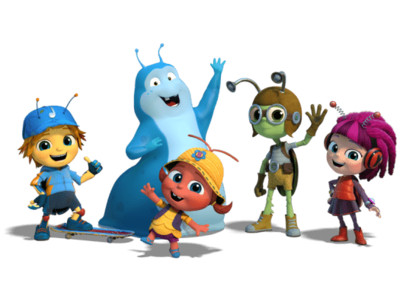Beat Bugs Characters PNG Image