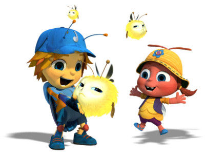 Beat Bugs Characters Glowies PNG Image