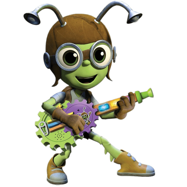 Beat Buts Crick on His Guitar PNG Image