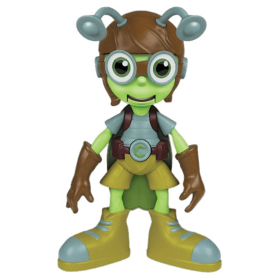 Beat Bugs Crick the Cricket Toy PNG Image