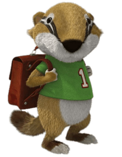 Tip's Friend Jody the Badger PNG Image