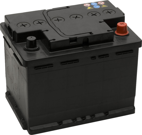Auto Battery Black PNG Image