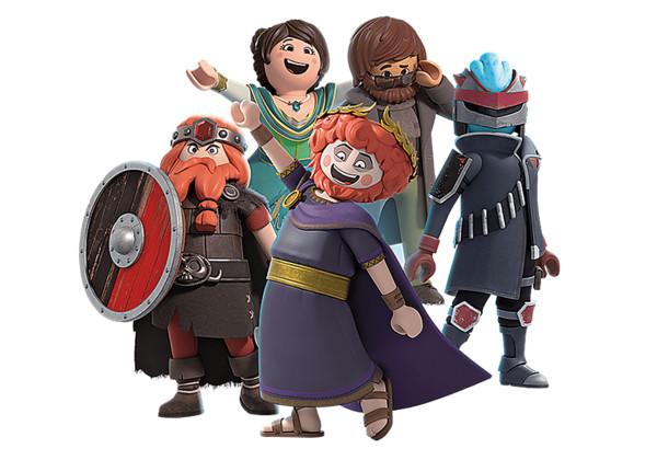 Playmobil Movie Characters PNG Image