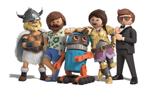 Playmobil Movie Cast PNG Image