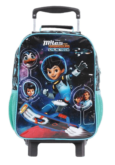 Miles From Tomorrowland Backpack PNG Image