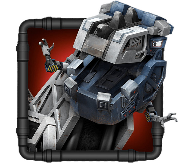 Dinotrux Character Ace Thumbnail PNG Image