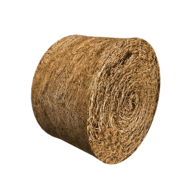 Round Hay Bale PNG Image