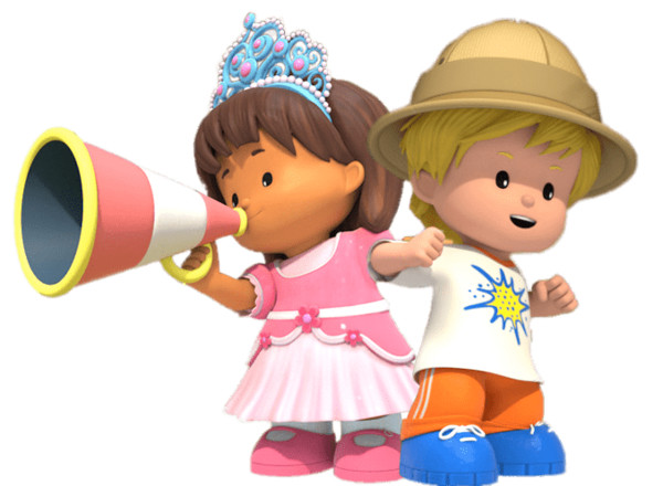Little People Characters PNG Image