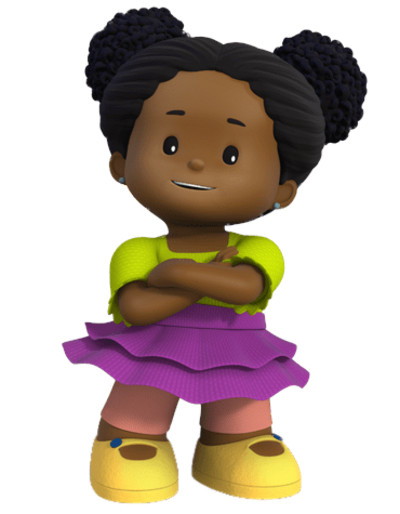 Little People Tessa PNG Image
