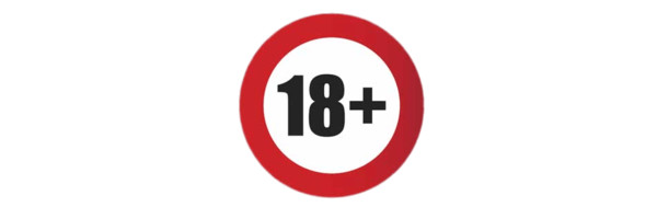 18+ Age Restriction PNG Image