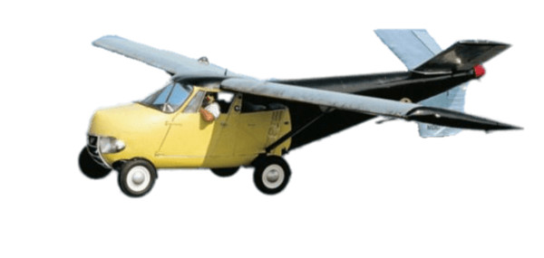 Self-Made Flying Car PNG Image