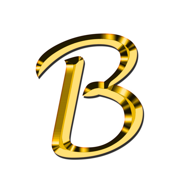 Capital Letter B PNG Image