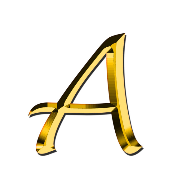 Capital Letter A PNG Image