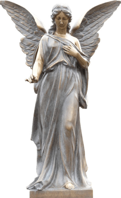 Angel Monument PNG Image