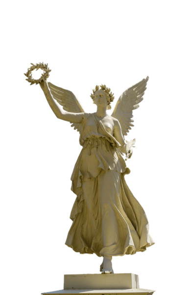 Angel Statue PNG Image