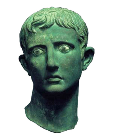 Augustus Bust PNG Image