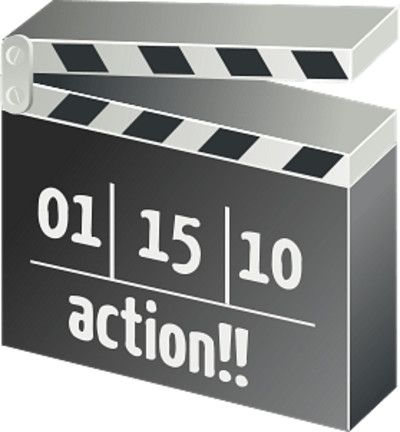 Action Clapperboard PNG Image